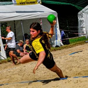 Bild eines Handballspielers